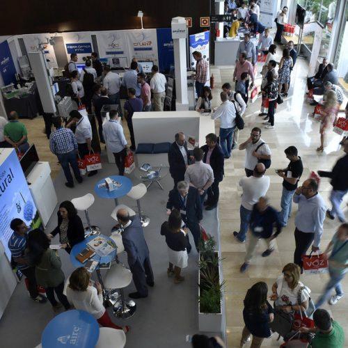 La feria AOEC 2017 vibró con un elevado nivel de afluencia de público.