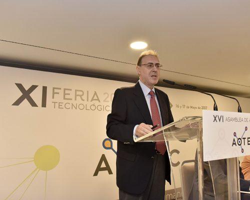 El director del Área de Operadores del Ministerio de Energía, Turismo y Agenda Digital José María Moragón.