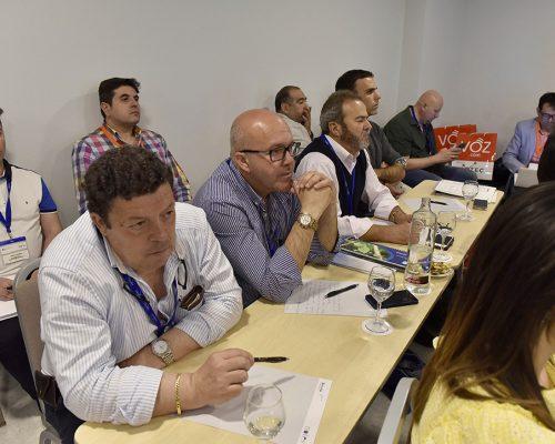 Los operadores locales estuvieron atentos a las explicaciones de los responsables de la CNMC y el Gobierno central durante las jornadas técnicas de AOTEC 2017.
