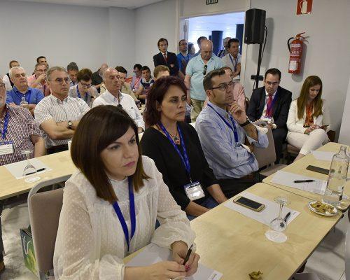 Los operadores locales abarrotaron la sala de las jornadas técnicas de la feria AOTEC 2017.