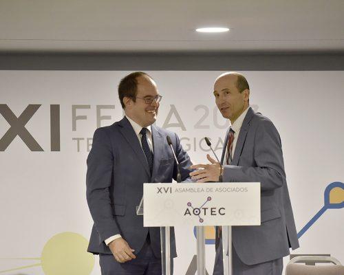 Jornadas técnicas de la feria AOTEC 2017 con la presencia del subdirector de la Sociedad de la Información de la Dirección de Competencia de la CNMC, Jordi Fornells.