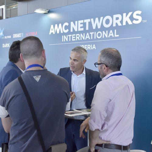 El patrocinador de la feria AOTEC 2017, AMC Networks.