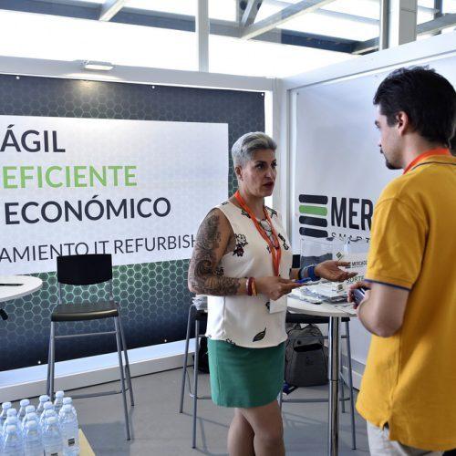 Mercado IT, empresa que ofrece soluciones de hardware y servicios para red, en AOTEC 2017.