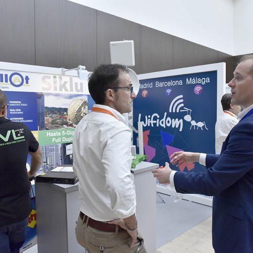 El experto en soluciones inalámbricas Wifidom, en AOTEC 2017.