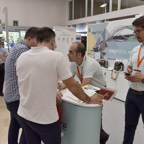 El proveedor valenciano de soluciones de fibra óptica, Keyfibre, en AOTEC 2017.