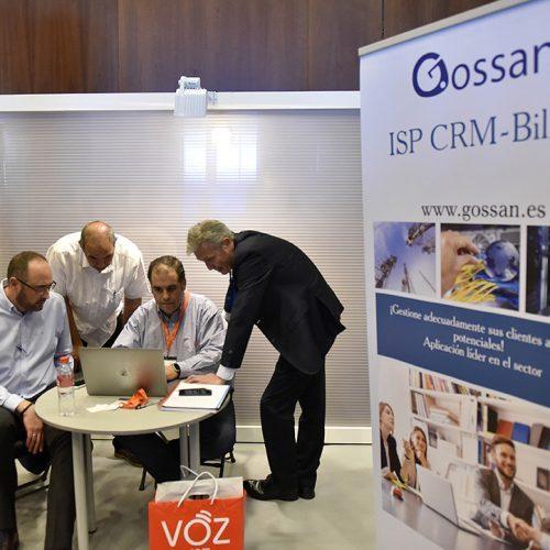 La compañía Gossan presenta su sistema de gestión CRM para empresas.