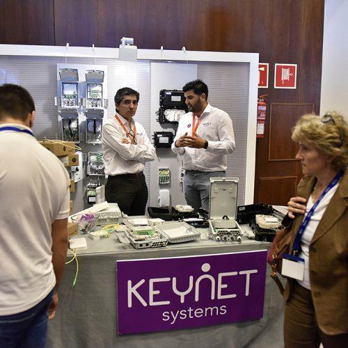 El Fabricante OEM y suministrador de soluciones para redes de fibra óptica, Keynat Systems, en la feria AOTEC 2017.