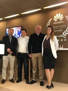 Huawei, Alea y Aotec, colaborando unidos.