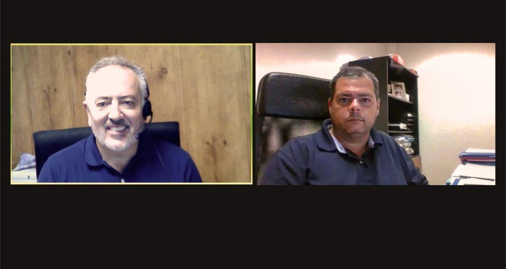 Los presidentes de Aotec y Asotem, Antonio García Vidal y Juan Manuel Castellano