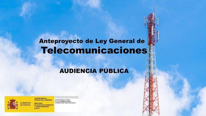 Anteproyecto ley de telecomunicaciones audiencia pública