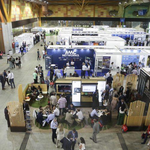 Feria AOTEC de telecomunicaciones en el Fycma