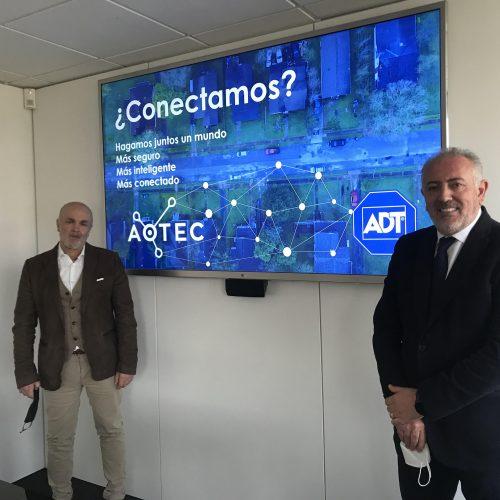 ADT y Aotec acuerdo