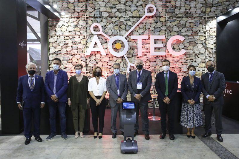 Clausura Aotec secretario de Estado de Telecomunicaciones